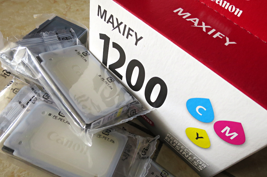【Canon Maxify MB-2720】任意でインク交換出来ない理由