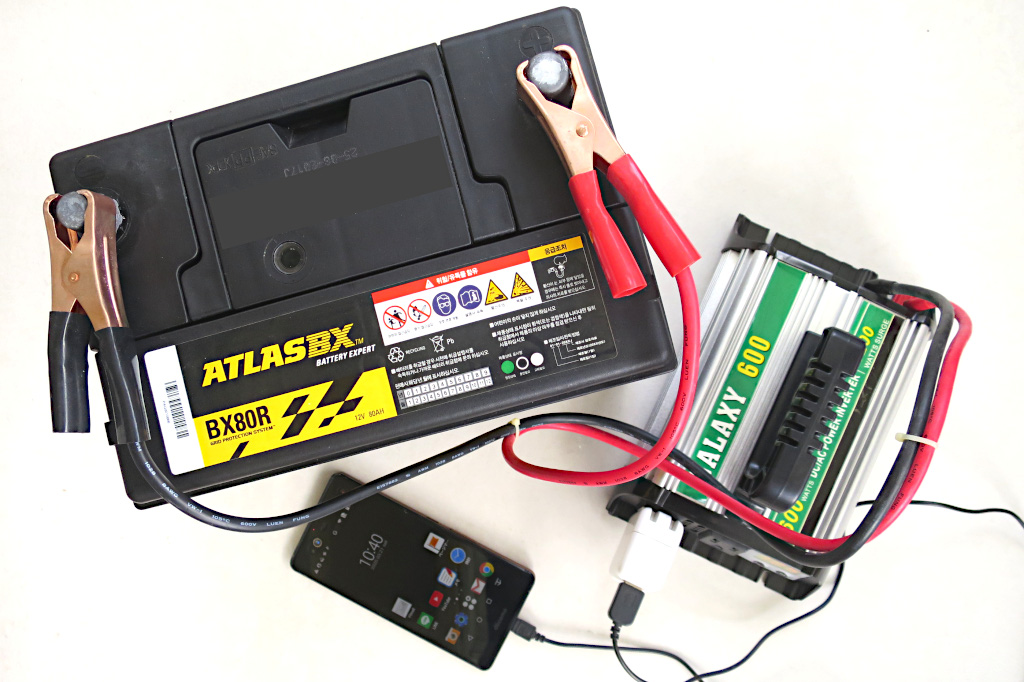 電気がなくても大丈夫!バッテリーから電気製品を使う方法