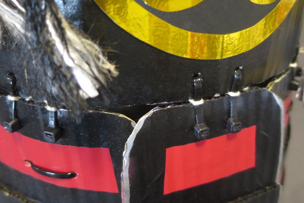 甲冑鎧の作り方【ダンボールで簡単手作りよろい】